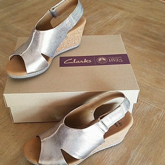 95f609fb308c Clarks Shoes - Clark s Helio Float4 wedge sandal